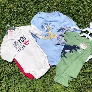 Lot of 3 baby 👶 boy clothes